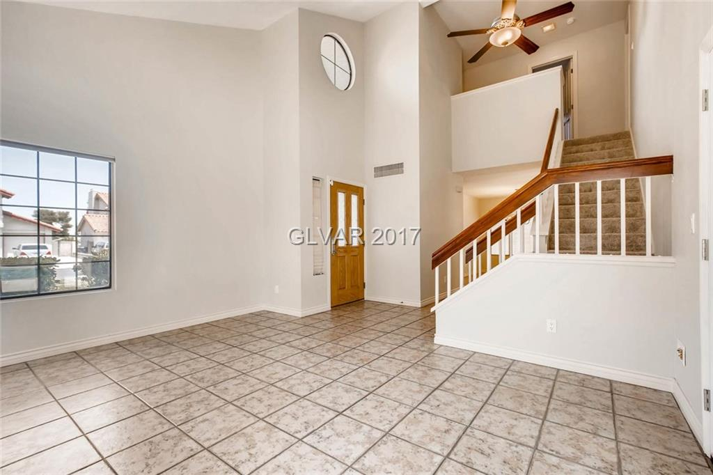 beautiful two-story tile entryway